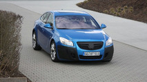 Opel Insignia OPC in blue spy photo