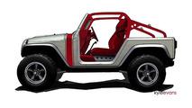 Jeep Wrangler Pork Chop concept - 4.4.2011