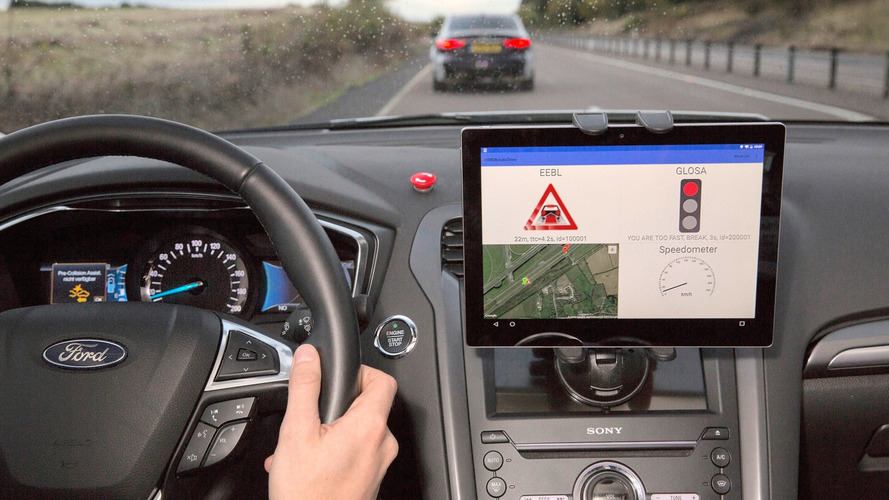 Ford, JLR connected car tech