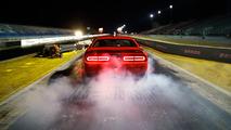 Dodge Challenger Demon teases harder shafts for the strip