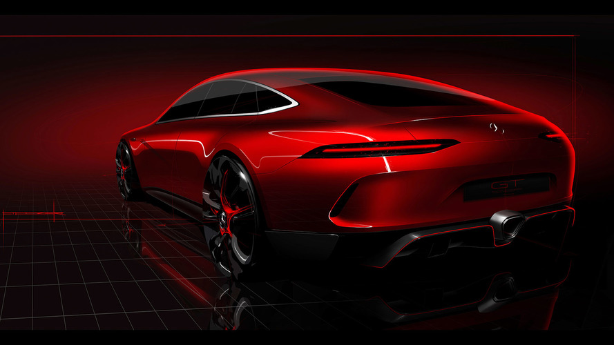 Hot Red Mercedes-AMG GT Concept Drops at 87th Geneva Motor Show
