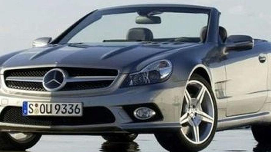 LEAKED: Facelifted Mercedes SL 350