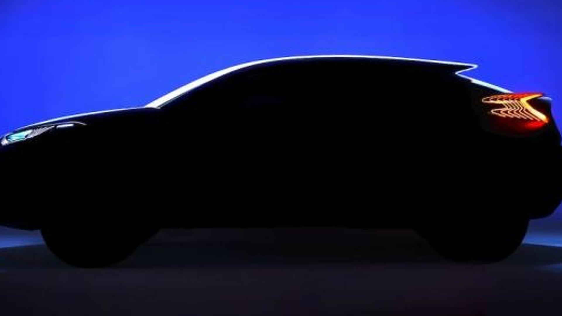 Toyota C-HR teased ahead of Paris Motor Show debut