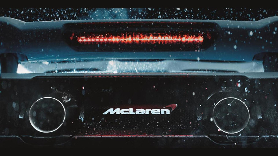 McLaren shows off the 675LT's rear end in latest teaser; will have 700 Nm torque [video]