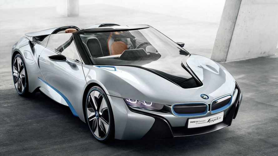 BMW i8 Concept Spyder officially unveiled
