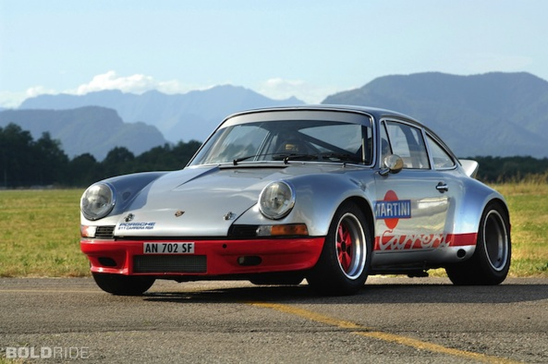 Wheels Wallpaper: 1973 Porsche 911 RSR