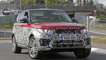 Range Rover Sport facelift spied with bigger touchscreen