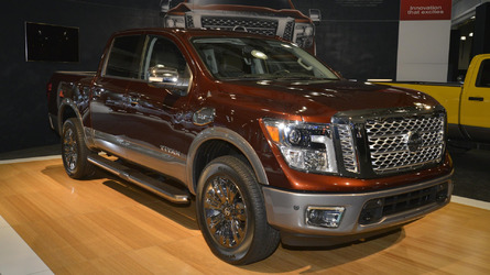2016 Nissan Titan XD Crew Cab V8 Gas priced from $35,290