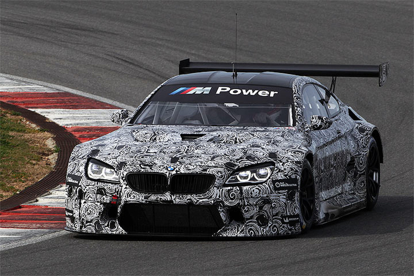 Big and Angry: The BMW M6 GT3 Looks to Raise the Bar in 2016