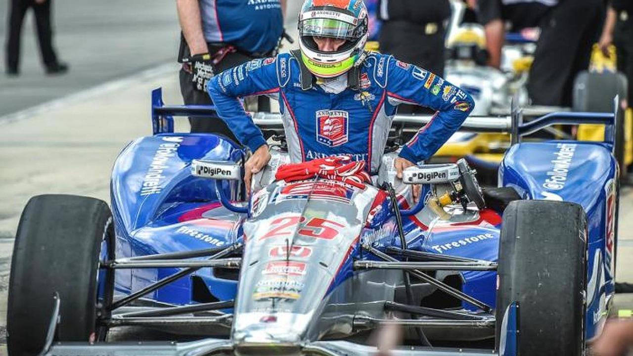 Justin Wilson, Andretti Autosport Honda, Pocono Raceway, 08.23.2015