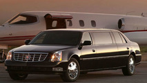 Donald Trump is First Cadillac DTS Executive Limousine Customer