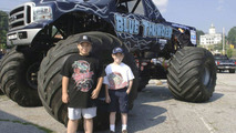Monster Trucks Take Over Tiny City