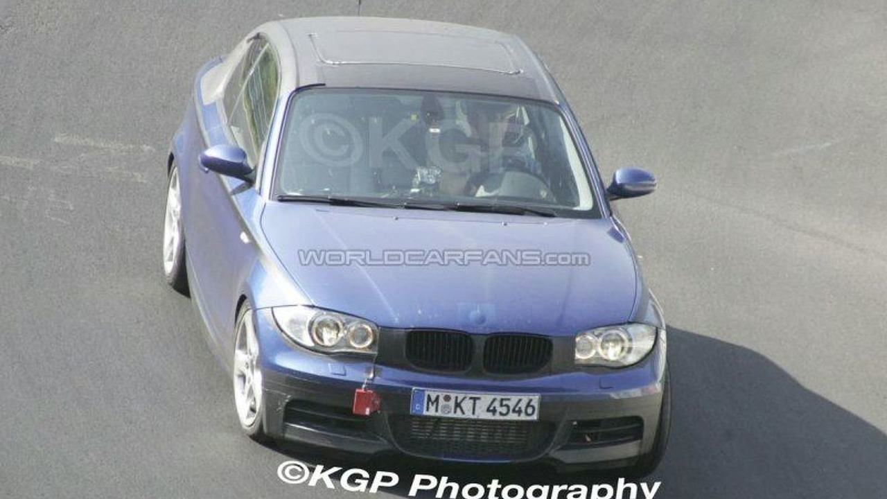 BMW 1 Series Coupe Front Uncovered