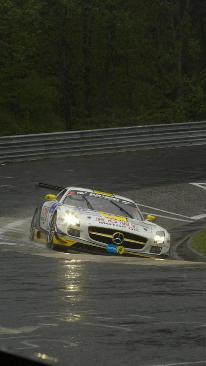 Mercedes SLS AMG GT3 at the 2013 24 Hours of Nürburgring 21.5.2013