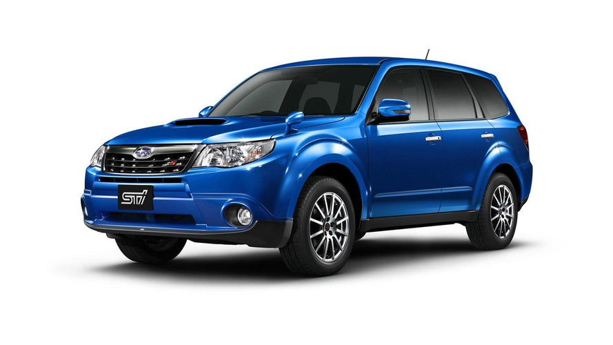 STi tuned Subaru Forester tS announced for Japan