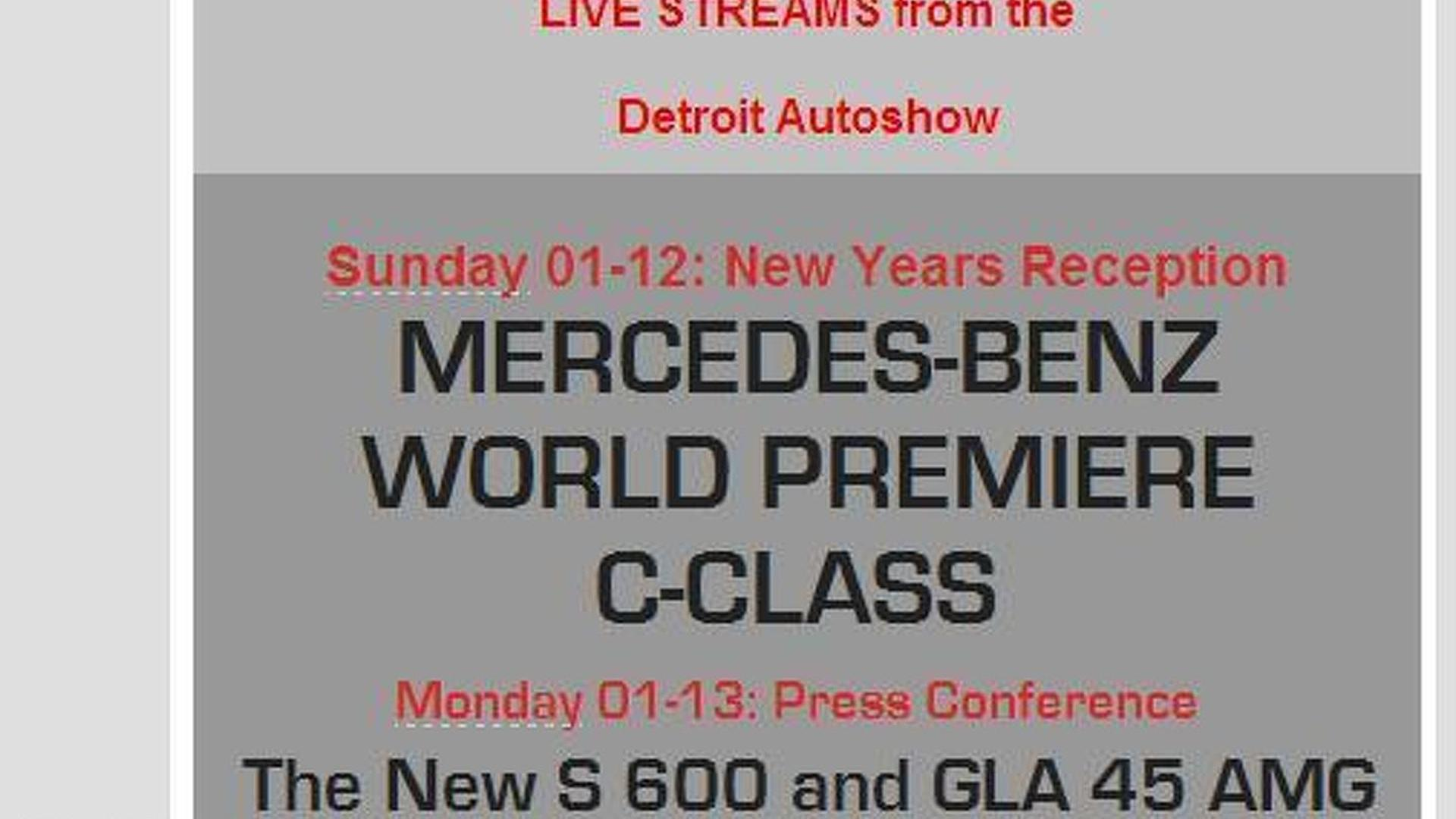 2015 Mercedes S600 confirmed for Detroit with 530 HP