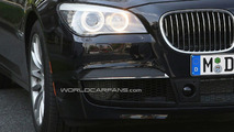 BMW 7-Series F01 M-sport package spy photo