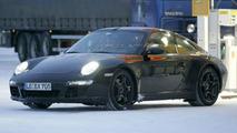 2009 Porsche 997 Facelift spy photo