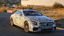2015 Mercedes Benz S63 AMG Coupe spied with production bumper