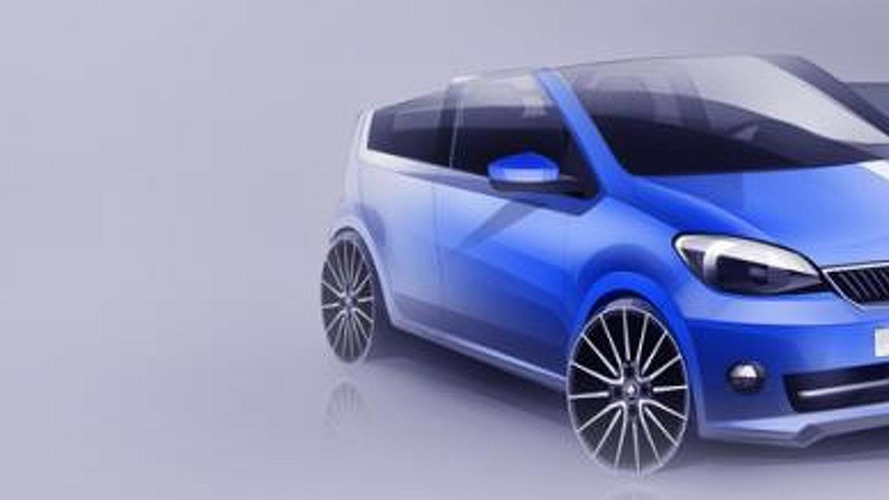 Skoda CitiJet concept teased ahead of Worthersee reveal