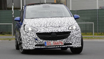 2015 Opel Corsa OPC spied undergoing testing, could debut this week