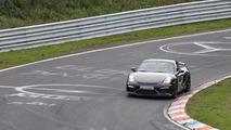 2016 Porsche Cayman GT4 spy photo