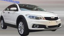 Qoros 3 City SUV spied completely undisguised