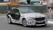 2014 Mercedes-Benz C-Class mule spy photo