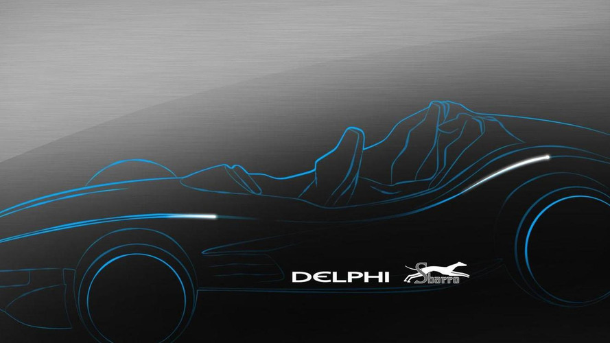 Delphi F1for3 concept teased for Geneva