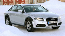 Audi A4 allroad test spy pic