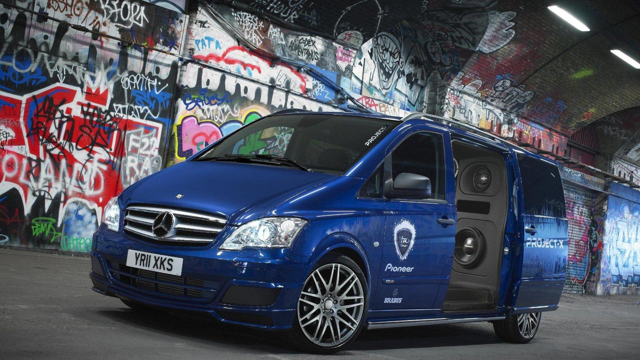 Mercedes-Benz Vito 122CDI Sport-X Dualiner Pioneer stereo Project X 06.01.2012