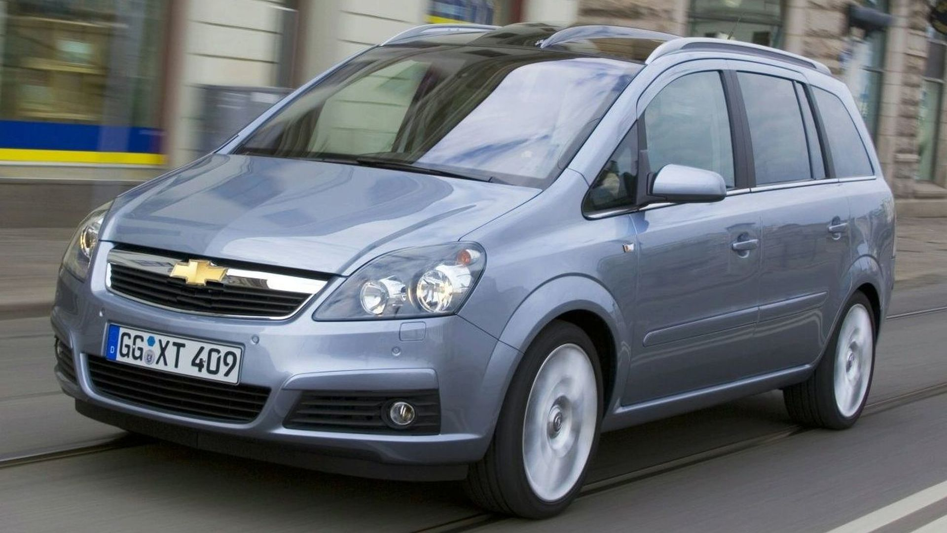New Compact Minivan for Chevrolet in 2009
