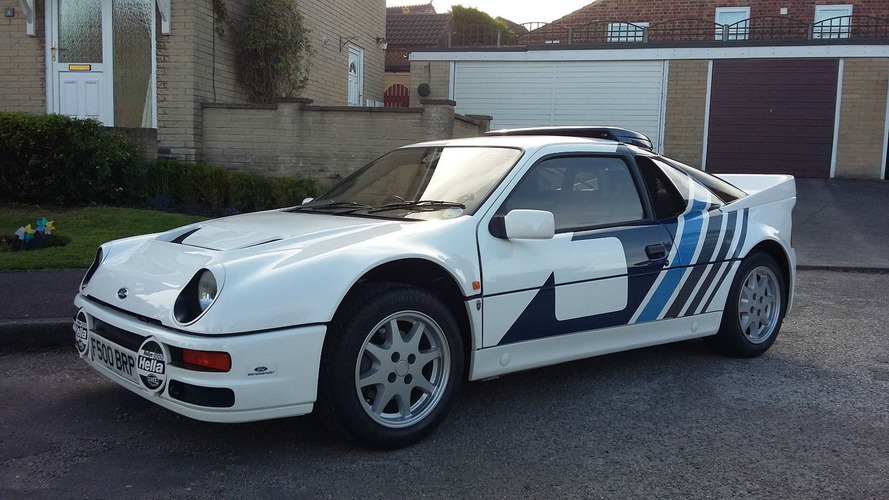 Amazingly clean 1985 Ford RS200 has driven just 1,760 miles