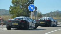 Two McLaren Sport Series prototypes spied, is one a Spider?