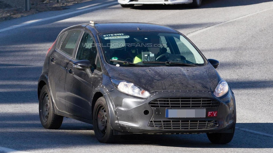 Mysterious Ford Fiesta spied, is it the Fiesta RS or a mule for the next-generation model?