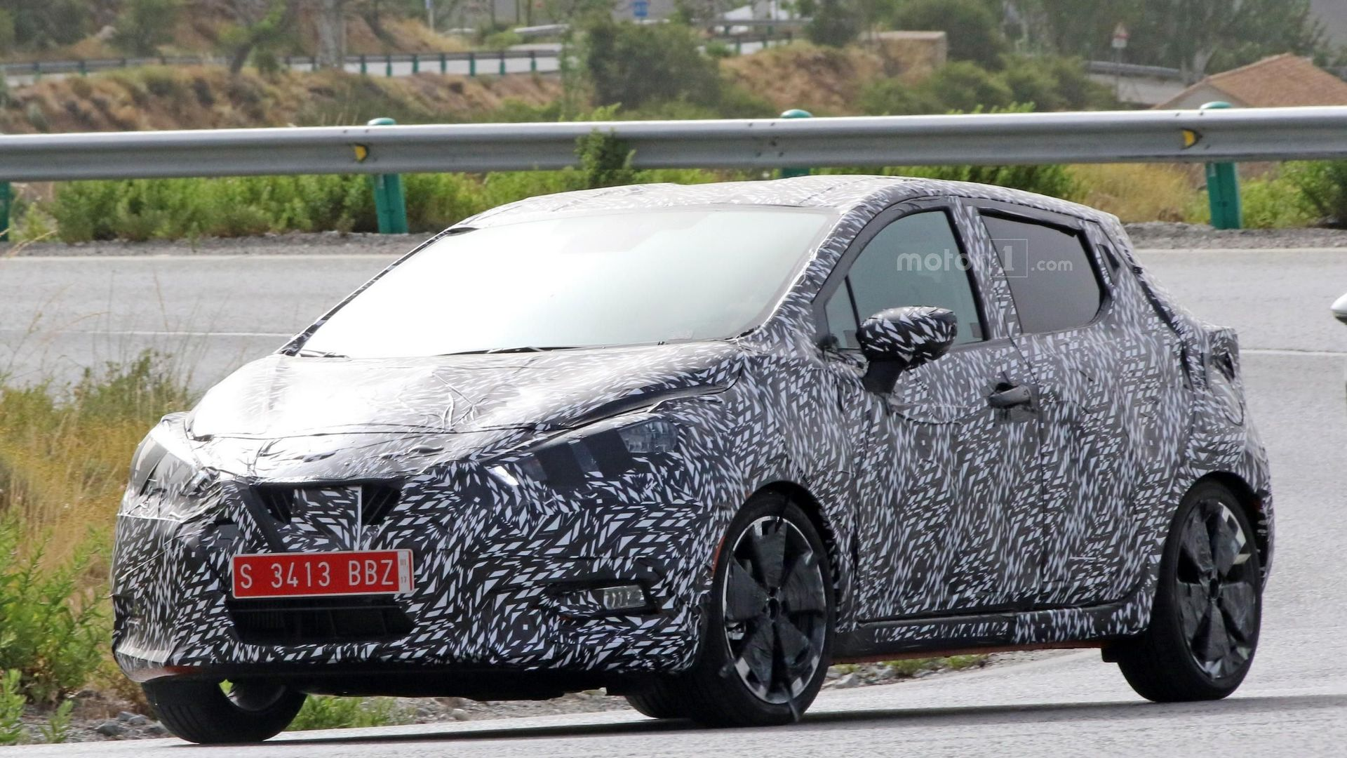 2017 Nissan Micra drops some camo, but not a lot