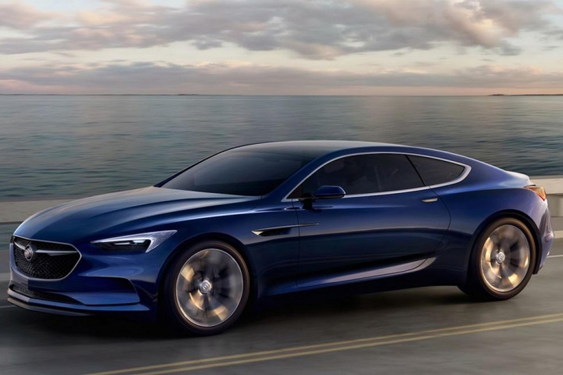 Buick Won't Build The Beautiful Avista Coupe Concept