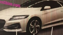Honda CR-Z facelift leaked