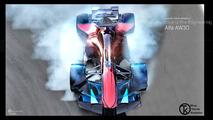 Alfa Romeo AW30 Formula 1 car renders