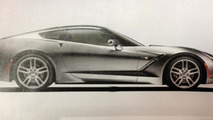 2014 Chevrolet Corvette leaked photo