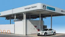 Mazda Hydrogen refill station
