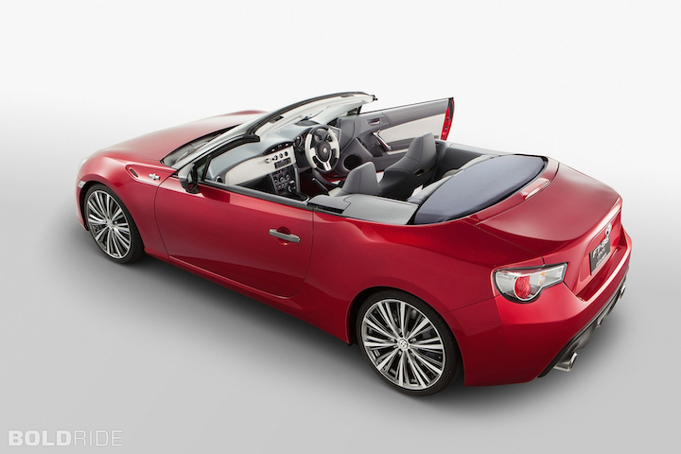 Scion FR-S Convertible, Sedan Coming Soon
