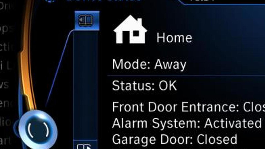 BMW will let you control your smart home from your car
