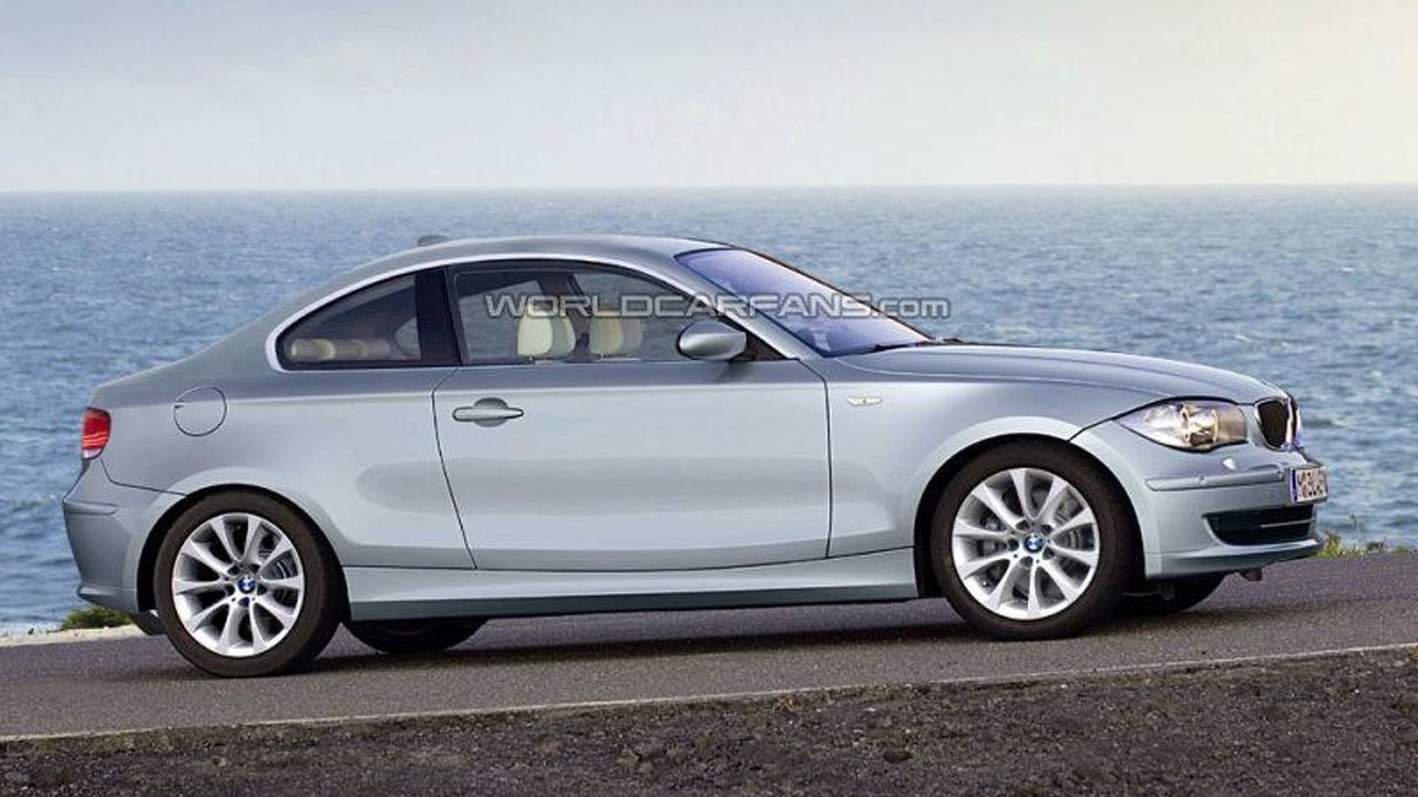 BMW 1-Series Coupe artists rendering