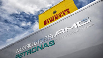 'Test-gate' whispers remain as Mercedes speeds ahead