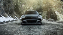 Vorsteiner tastefully modifies a previous generation Porsche 911 Turbo