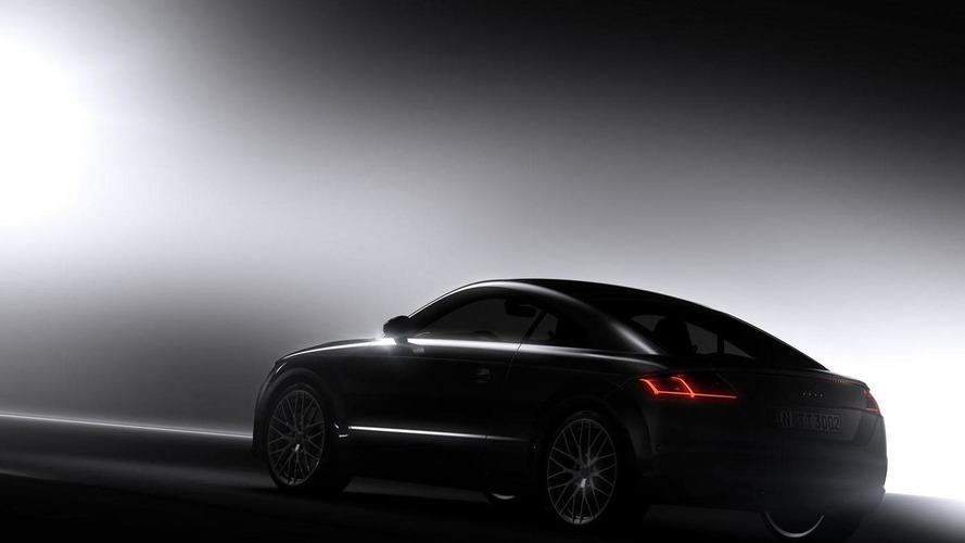 Audi releases a new teaser image of the 2015 TT