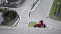Tiago Monteiro tackles Spa Francorchamps on the Honda Mean Mower [video]
