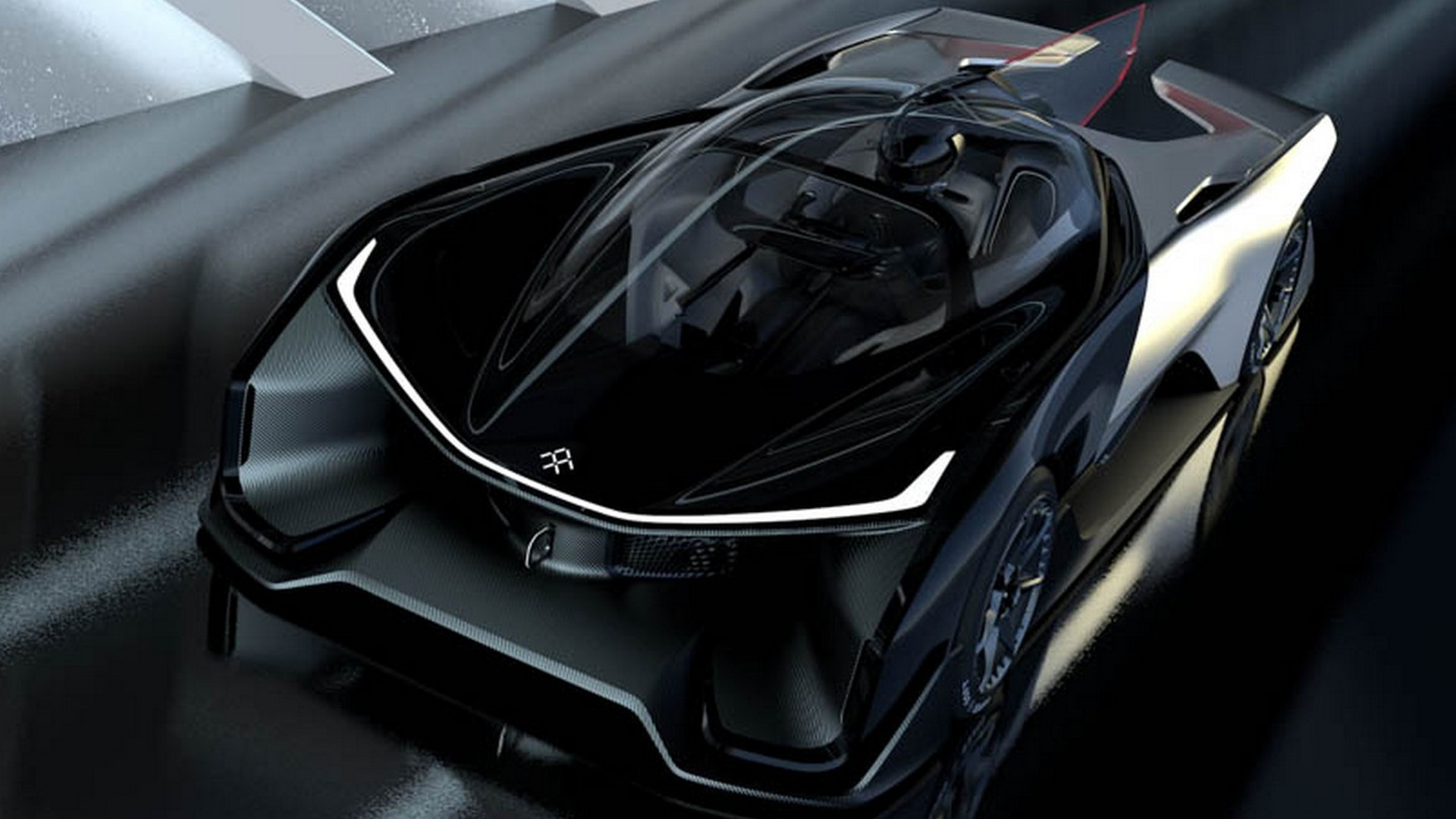 Faraday Future FFZERO1 electric concept has 1,000+ hp [videos]