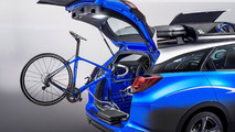 Honda Civic Tourer Active Life concept is all about bicycles at 2015 IAA